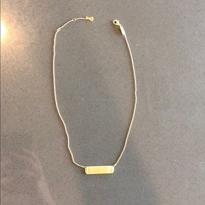 KEEP Collective gold bar necklace
